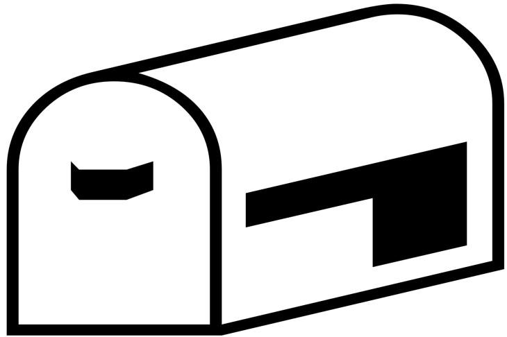 mailbox-silhouette