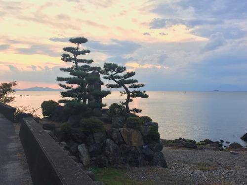 biwa-ko-sunset