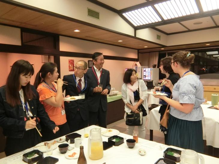 Hikone Chamber of Commerce party