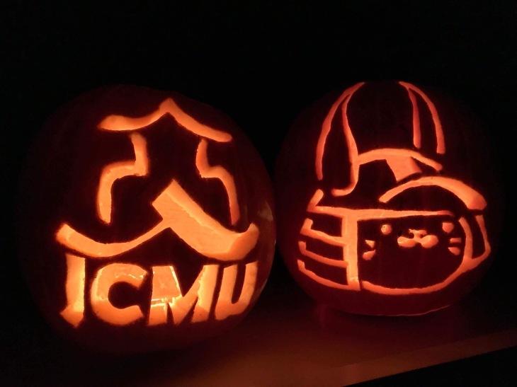 Jack o' lanterns - JCMU style!