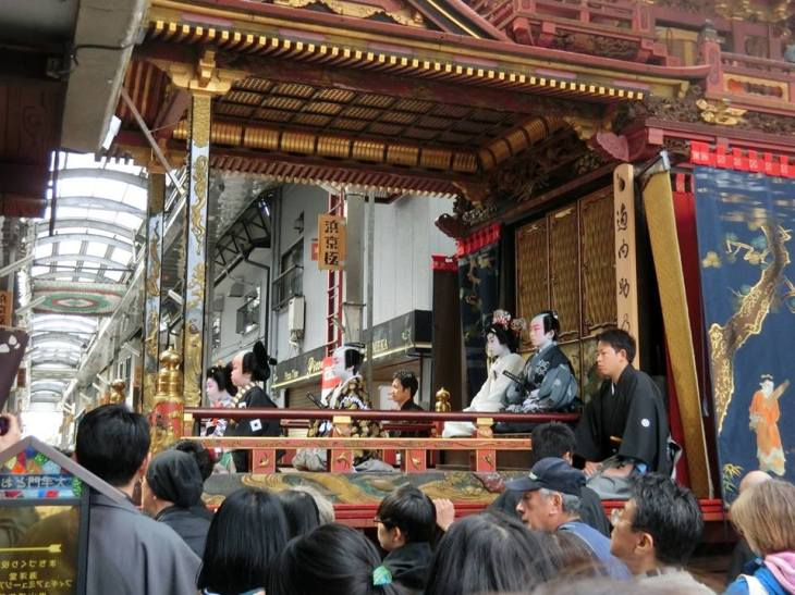 Nagahama Hikiyama Festival - Childrens' Kabuki 3.jpg