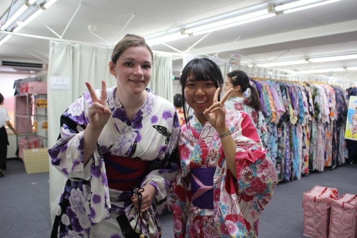 Kimono with host sibling.JPG