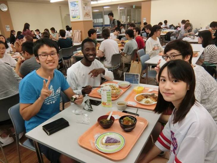 Dinner with Shiga students.jpg